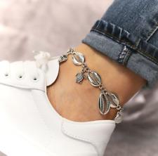 Anklet Beach Sandal Ankle Bracelet Gift Women Boho Alloy Shell Sea Turtle