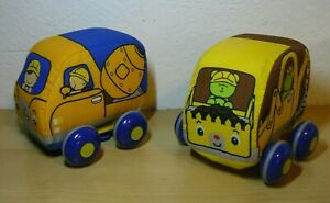 Melissa & Doug K's Kids Wheeled Rolling Stuffed Plush Construction Truck 4""