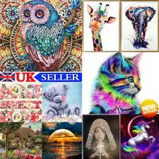 Hazlo tú mismo 5D Diamante Pintura animal cruz puntada bordado de mano Arte Manualidades Decoración Nuevo
