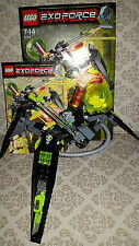 Lego 8104 - Exo Force - Shape Crawler 100% Complete Boxed 2007 2 Figures