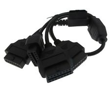 16-Pin OBD 2 OBDII Male to 4 Female Extension Cable - 50CM
