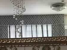 Mäander medusa Gardinen Vorhäng Übergardinenstoff übergardinen vorhänge 4.tlg