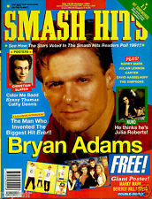 SMASH HITS 1991 MARKY MARK WAHLBERG BEVERLY HILLS 90210 BRYAN ADAMS CATHY DENNIS
