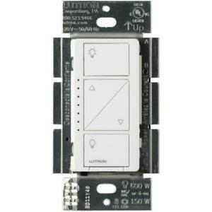 Lutron PD-6WCL-WH-R Lighting Dimmer Switch - White