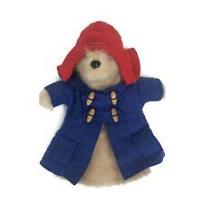 Vintage 1974 Gabrielle Design Paddington Bear Hand Puppet Plush Toy Made England