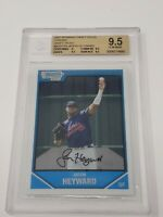 JASON HEYWARD ROOKIE 2007 Bowman Chrome Draft #BDPP54 Graded BGS 9.5 GEM MINT