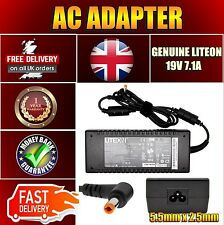REPLACEMENT LITEON 135W ADAPTER FOR ACER TRAVELMATE 2700 UK 19V 7.1A CHARGER