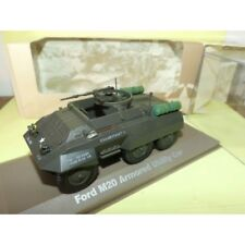 FORD M20 ARMORED UTILITY CAR MILITAIRE ATLAS N°006 1:43