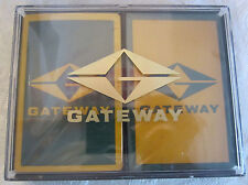 Gateway Playing Deck Of Cards Set Of 2 With Original Box Plastic Case Sealed New