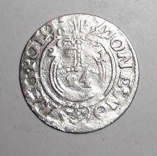 1621 Medieval Poland, Sigismund III. (1587-1632) AR 3 Polker