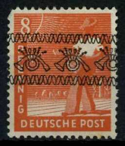 Germany Allied Occ. 1948 SG#A38, 8pf Vermillion Optd Inverted Error MNH #E34054