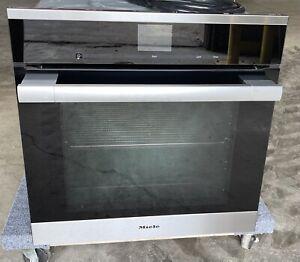 "Miele ContourLine SensorTronic Series H6560B 24"" Single Electric Wall Oven"