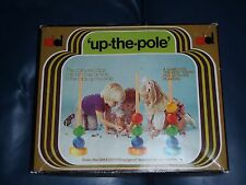 "DEKKERTOYS ""Up-The-Pole"" Childrens Dice Tactile Game.  (Up The Pole / Vintage)"