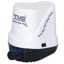 Pompa Acqua Sentina Ad Immersione Automatica TMC 1000 GPH 12V 6A Gommone Barca
