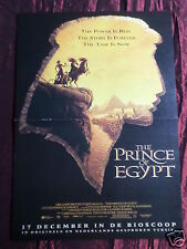 THE PRINCE OF EGYPT - MAGAZINE CLIPPING- ( CENTREPAGE SPREAD )- PIN UP