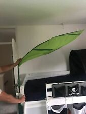 IKEA Lova Children's Over Bed Leaf Shaped Canopy Green x 2
