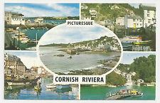 Postcard, PLC846,Cornish Riviera, Falmouth, Polperro, St Mawes, Mevagissey,Fowey
