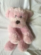 ANIMAL ADVENTURE Target  2015 Pink Stuffed Floppy PUPPY Dog Brown Nose Plush EUC