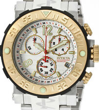 Invicta 6135 Reserve Sea Rover Ocean Reef Swiss Chronograph White Dial