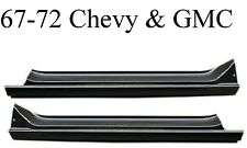 67 72 Chevy Slip-On Rocker Panel Set GMC Truck Both Sides Included Left & Right
