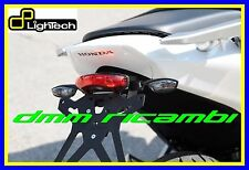 Portatarga LighTech HONDA NC 700 750 X 12>13 supporto + luce targa led 2012 2013