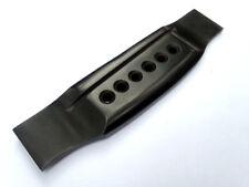 Guitar bridge Ebony wood MARTIN STYLE 6 string with extra slot cut, best quality