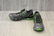 Mizuno Wave Prophecy 7 Athletic Shoes - Men's Size 8 - Grey/Green