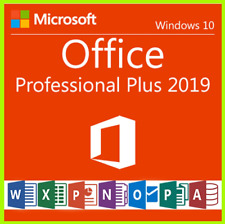 Microsoft Office 2019 Professional Plus 32/64Bit License Key Fast Delivery