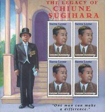 MODERN GEMS - Sierra Leone - Legacy of Chiune Sugihara - Sheet of 4 - MNH