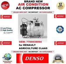 DENSO ARIA CONDIZIONATA COMPRESSORE AC OEM: 7700038094 PER RENAULT AGRICOLTURA