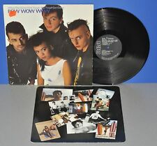Bow Wow Wow when the going gets tough going UK'83 VINILE LP cleaned! Strong è VG +