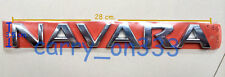GENUINE NISSAN NAVARA FRONTIER D21 D22 D40 SX STX Pro-4X BADGE EMBLEM LOGO JAPAN