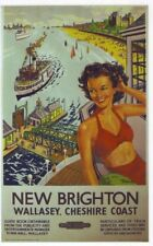 1950's British Railways nuovi Brighton Poster A3 RISTAMPA