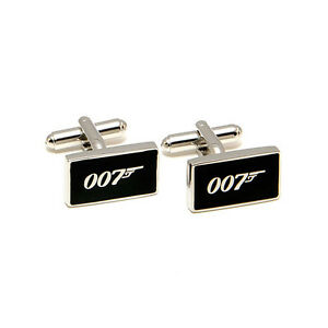 James Bond 007 - High Quality Cufflinks for Dress, Work, or Special Occasion