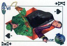 BATMAN FOREVER CARTE METAL HOLO RELIEF N°  62