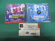 PlayStation -- WORLD SOCCER JIKKYOU WINNING ELEVEN 3 FRANCE '98. -- PS1. 20440
