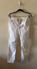 H&M L.O.G.G WHITE PANTS SZ.8