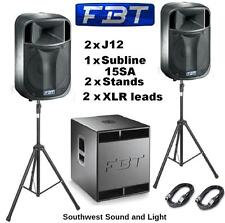 Pro Audio Speakers & Monitors with 3-Way Configuration