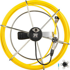 30m Length Pipe Inspection Camera Cable w/Handle System Sewer Drain Pipeline