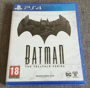 Sony Playstation 4 PS4 Game Batman The Telltale Series Season Pass Disc New