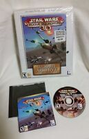 Star Wars Rogue Squadron LUCASARTS ARCHIVE  Series 3D PC Game 2001 Big Box