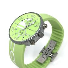 MomoDesign Jet Chronograph Watch Lime Green 43 mm Aluminium Case BRAND NEW