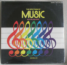 Spectrum of Music w/ Related Arts 1983 Schirmer Recs #P16635 CHILDRENS Sealed LP