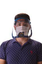 HALLOWEEN FACE SHIELD CLEAR FLIP-UP VISOR TRANSPARENT MEDICAL DENTAL MASK