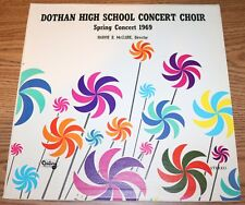 Dothan High School Concert Choir Spring AL - Harvie B. McClure 1969 LP Alabama