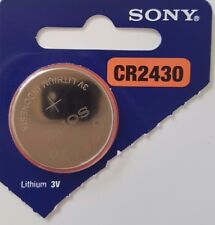 SONY CR2430 BATTERY 2430 DL2430 KRC2430 CELL COIN BATTERIES 3V expire 2026 X 1