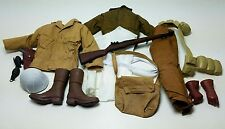 Military Uniform Weapons Accessories for 1/6 Scale Action Figure GI Joe Lot #310