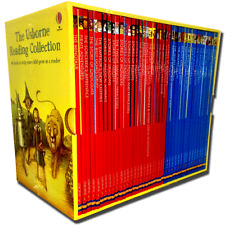 The Usborne Reading Collection 40 Books Gift Box Set Early Readers