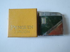 New Authentic Vintage Penguin Zircon Lighter
