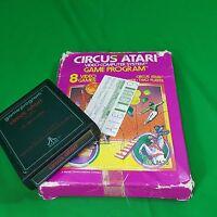 Atari 2600 Circus Vtg Videogame Original Box 1980 Complete Retro